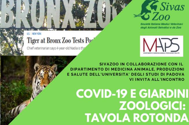 Collegamento a COVID-19 e giardini zoologici